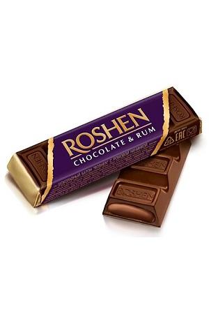 Шоколадный батончик Roshen с ромовой начинкой с доставкой по Словении