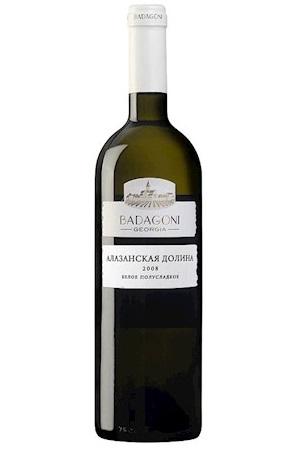 Belo polsladko vino Alazanska dolina, Gruzija 0,75L z dostavo v Sloveniji