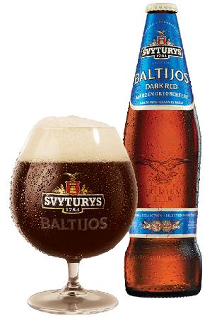 Пиво Svyturys темное 5,8% 0,5л Литва с доставкой по Словении