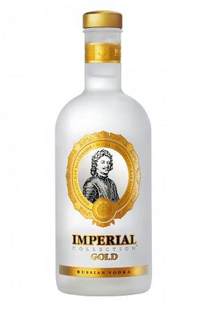 Vodka Carska Imperial Collection Gold z dostavo v Sloveniji