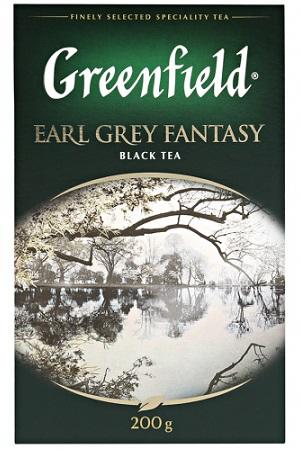 Чай Гринфилд, Earl Grey Fantasy, 200г. с доставкой по Словении