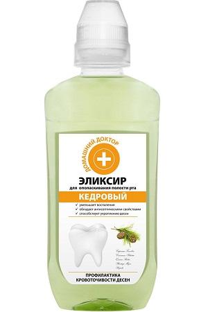Eliksir za dlesni s cedrovim oljem, 300ml Ukrajina z dostavo v Sloveniji