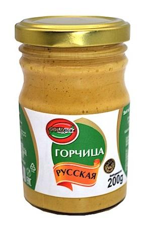 Горчица русская 200г. Тапако, Россия с доставкой по Словении
