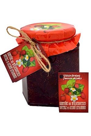 Džem iz gozdnih jagod, 370g. z dostavo v Sloveniji