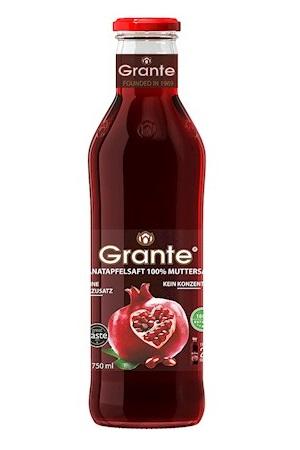 Sok granatnega jabolka 100% Grante, 0,75l., Azerbajdžan z dostavo v Sloveniji