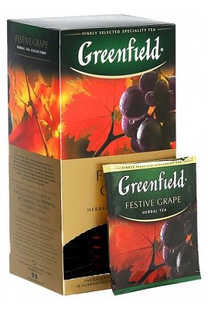 Чай Гринфилд Festive Grape 25×2г. с доставкой по Словении
