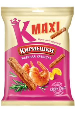 Кириешки MAXI со вкусом жаренных креветок, 60г. с доставкой по Словении