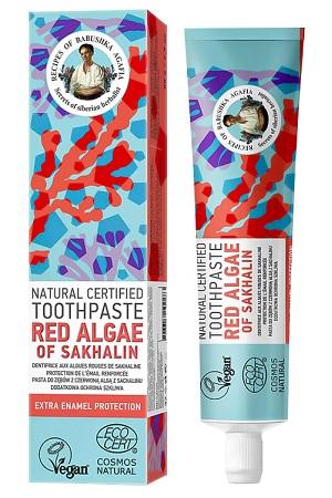 Зубная паста Красные водоросли Рецепты бабушки Агафьи 85г. с доставкой по Словении