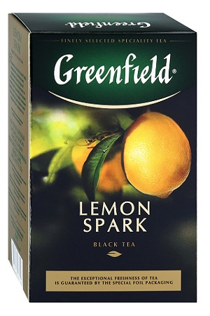 Čaj Črni Greenfield LEMON SPARK 100g z dostavo v Sloveniji