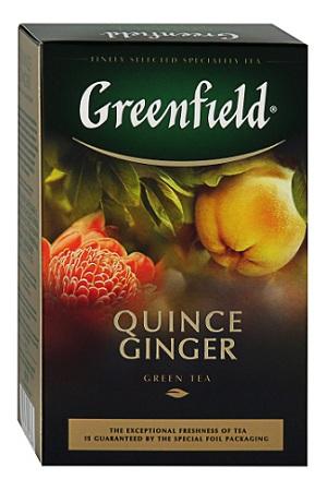 Чай Quince Ginger зеленый с ароматом айвы и имбирем, 100г. с доставкой по Словении