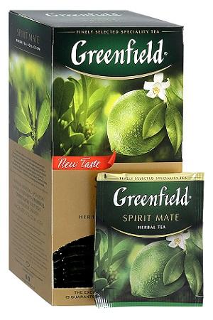 Чай Spirit Mate с ароматом лайма и грейпфрута, 25х1,5г. с доставкой по Словении