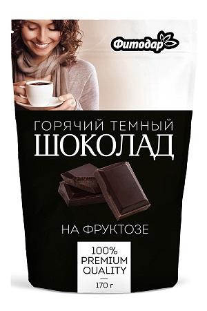 Горячий темный шоколад на фруктозе, 170г. Россия Фитодар с доставкой по Словении