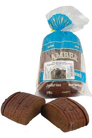 Kruh ržen Borodinskij Amber 700g. v rezinah z dostavo v Sloveniji