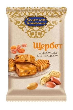 Karamela z rozine in arašidi (Ščerbet) Zolotaja Čajhana, 140g. Rusija z dostavo v Sloveniji