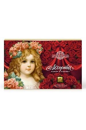 Bonboniera Angel z vencem iz vrtnic, 240g. Rusija z dostavo v Sloveniji