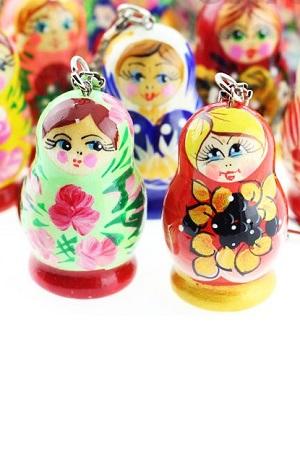 Breloka Matrješka mix, Rusija z dostavo v Sloveniji
