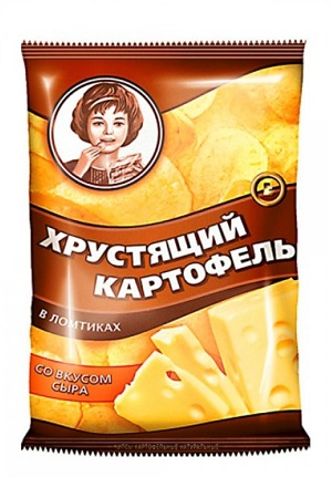 Čips Moskovski krompir s sirom, 160g. Rusija z dostavo v Sloveniji