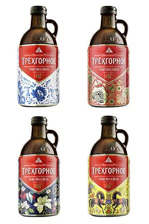 Пиво Эль Трехгорное 4,9% 1л Россия с доставкой по Словении