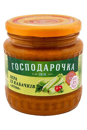 Кабачковая икра Господарочка 475г. Украина с доставкой по Словении