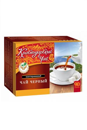 Краснодарский чай черный пакетированный 90х2г., Россия с доставкой по Словении