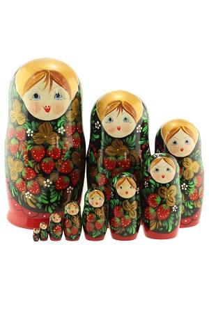 Matrjoška 10 lutk, Rusija z dostavo v Sloveniji