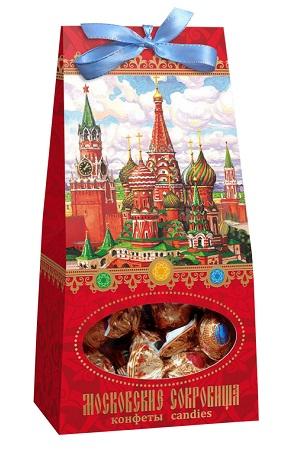 Bonboni Moskovski Zaklad z višnjo in oreščki, 150g. Rusija z dostavo v Sloveniji