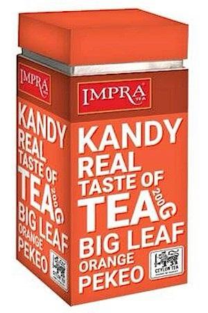 Čaj črni IMPRA Kandy, 200g. list, Ceylon z dostavo v Sloveniji
