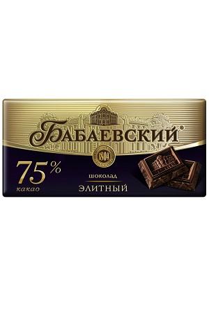 Elitna čokolada Babajevskij, 100g. Rusija z dostavo v Sloveniji