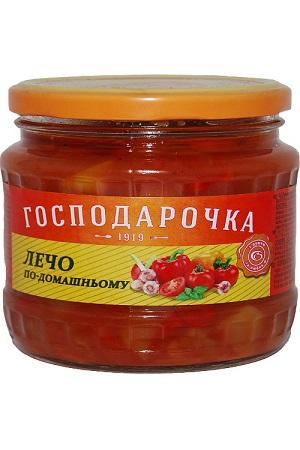 Lečo Paprika v paradižnikovi omaki Gospodaročka 440g. Ukrajina z dostavo v Sloveniji