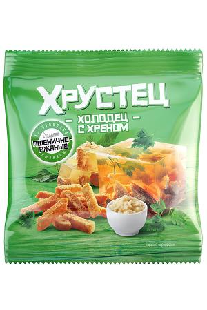 Krekerji z okusom hrena Hrustec, 35g. Rusija z dostavo v Sloveniji