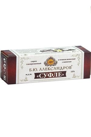 Суфле с ванилью в темном шоколаде Б.Ю. Александров, 40г. с доставкой по Словении