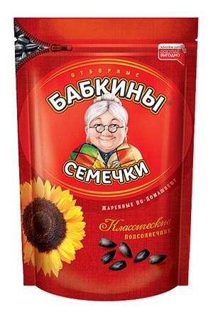 Pražena sončn. semena neoluščena Babkini, 500g. Rusija z dostavo v Sloveniji