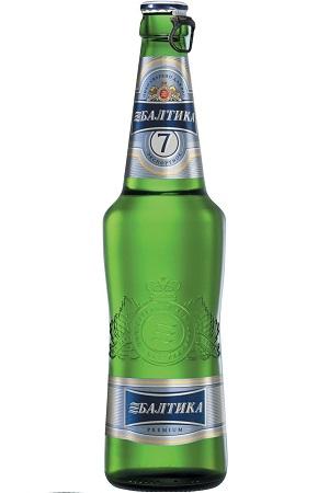 Pivo Baltika #7, 0,47L. Lager, Rusija z dostavo v Sloveniji