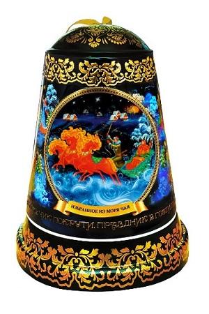 Čaj črni v muzik. škatli Zvonček Trojka, 50g z dostavo v Sloveniji