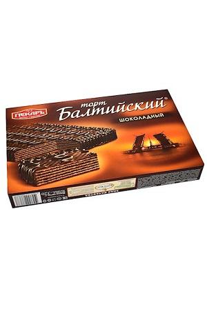 Baltijska čokoladna torta z vaflji, 320g Rusija z dostavo v Sloveniji