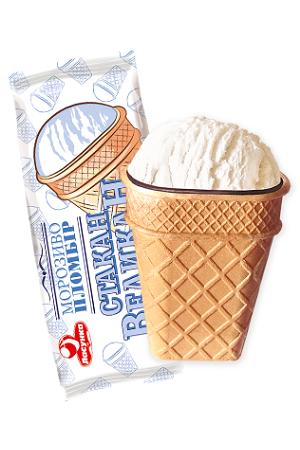 Sladoled Plombir Stakan Velikan, 80g Ukrajina z dostavo v Sloveniji