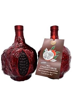 Гранатoвое вино 13% сладкое 0,75л. сувенирная бутылка, Армения с доставкой по Словении