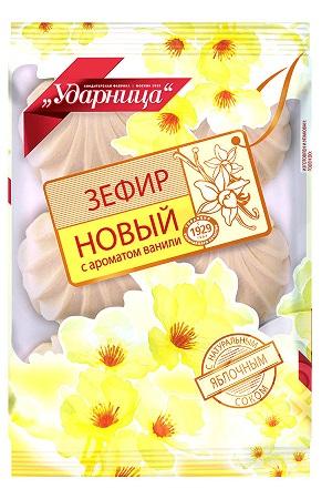 Зефир Ударница с ароматом ванили 160г Россия с доставкой по Словении