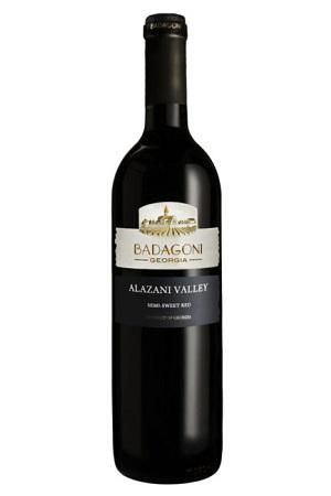 Rdeče polsladko vino Alazanska dolina, Gruzija 0,75L z dostavo v Sloveniji
