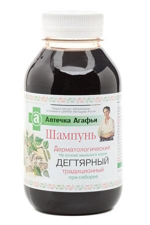 Шампунь Дегтярный Аптечка Агафьи 300 мл. Россия с доставкой по Словении