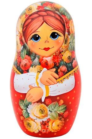 Čaj črni v škatli Matrjoška s cvetjem, 50g z dostavo v Sloveniji