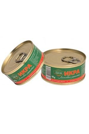 Kaviar gorbastega lososa (gorbuša), 95g Rusija z dostavo v Sloveniji