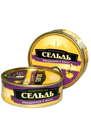 Atlanski slanik pražen v olju, konzerva 230g Litva z dostavo v Sloveniji