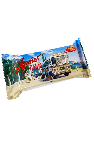 Вафли Артек Плюс с шоколадной начинкой Объединенные кондитеры с доставкой по Словении