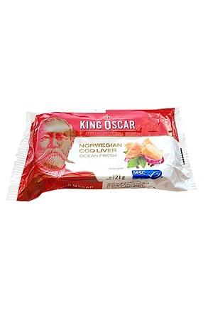 Печень трески King Oscar, 121г. Норвегия с доставкой по Словении