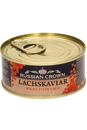 Икра горбуши, 95г. Russian Crown с доставкой по Словении