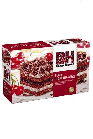 Biskvitna torta z višnjo Schwarzwald, 350g Rusija z dostavo v Sloveniji