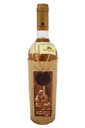 Belo polsladko vino Duša meniha, 0,75l. Moldova z dostavo v Sloveniji