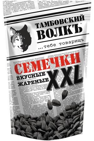 Жареные семечки Тамбовский волк XXL 400г Россия с доставкой по Словении